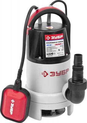 Насос погружной ЗУБР ЗНПГ-400 9м 150 л/мин 400Вт насос погружной для грязной воды зубр знпг 400