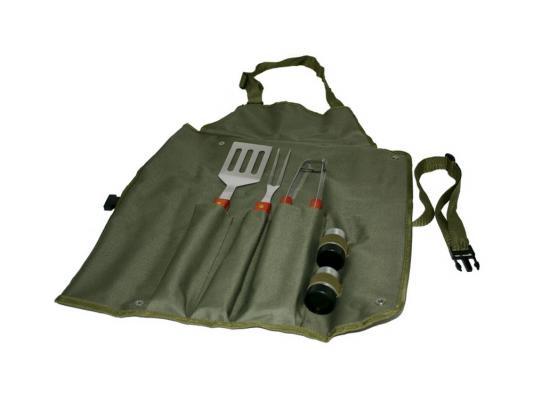 Набор Boyscout 61320 сумка-фартук+вилка+лопатка+щипцы+солонка+перечница