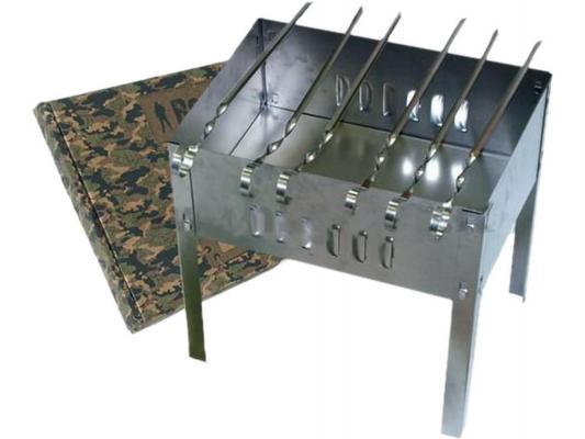 Мангал Boyscout 61235 сборный 35х25х35см + 6 шампуров