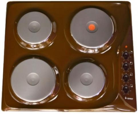 Варочная панель электрическая Gefest СВН 3210 К17 коричневый
