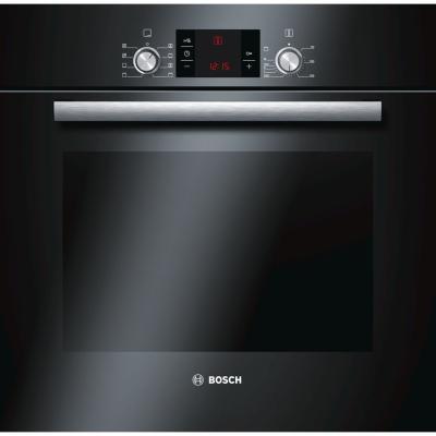 Купить со скидкой Электрический шкаф Bosch HBG23B360R черный