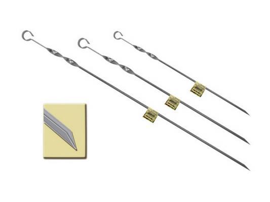 Шампур Boyscout 61022 угловой нержавеющая сталь 450х10х1мм