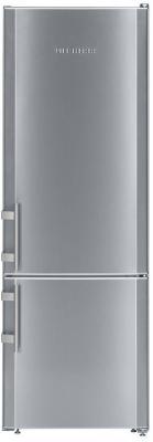 Холодильник Liebherr CUef 2811 серебристый двухкамерный холодильник liebherr cuwb 3311
