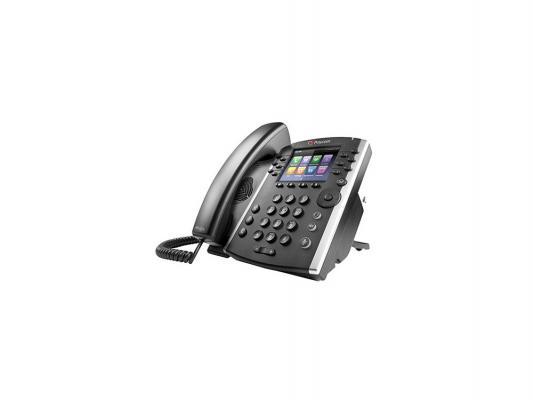 Телефон IP Polycom VVX 400 для конференций черный 2200-46157-114