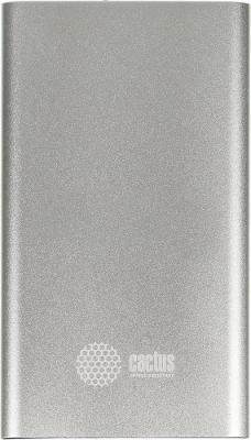 Портативное зарядное устройство Cactus CS-PBA12-4000S 4000мАч серебристый