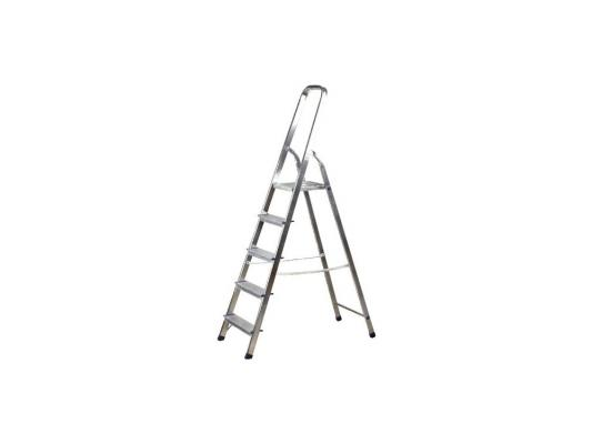 Лестница-стремянка Зубр алюминиевая 5 ступеней 38801-5 стремянка krause monto solido 5 ступеней 126641