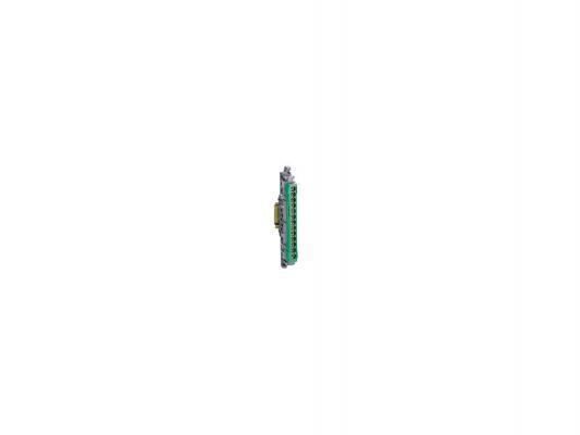 Клеммник Legrand 12х16+1х25 зеленый 04834