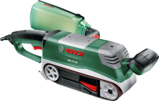 Ленточная шлифмашина Bosch PBS 75 AE 750Вт ленточная шлифмашина bosch pbs 75 ae 06032a1120