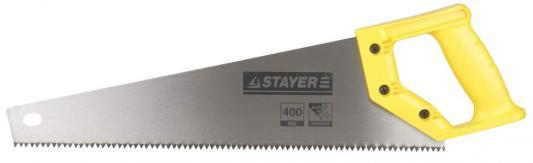 Ножовка Stayer Standard по дереву универсальный зуб пластиковая ручка 15061-45_z01 ножовка по дереву для стусла runex angle 300мм ударный зуб 13 577405