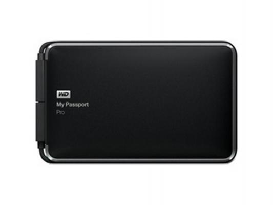"""Внешний жесткий диск 2.5"""" USB3.0 4 Tb Western Digital My Passport Pro WDBRNB0040DBK-EESN черный"""