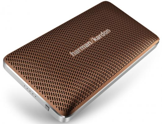 Портативная акустика Harman Kardon Esquire Mini bluetooth 8Вт коричневый портативная колонка harman kardon harman kardon esquire 2