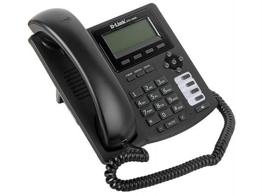 Телефон IP D-Link DPH-150SE/F4B 2 10/100BASE-TX Fast Ethernet