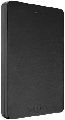 """Внешний жесткий диск 2.5"""" USB3.0 1Tb Toshiba Canvio Alu HDTH310EK3AA черный"""