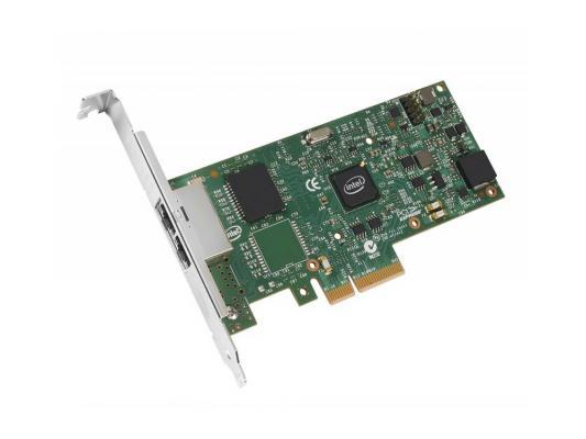 Сетевая карта Intel I350-T2 V2 10/100/1000Mbps I350T2V2BLK 936714 сетевая карта intel x557t2ocpg1p5 x557t2ocpg1p5 950179