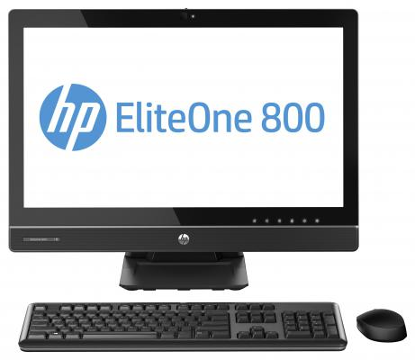 Моноблок HP EliteOne 800 G1 22 1920x1080 G3250 3.2GHz 4Gb 1Tb IntelHD DVD-RW Wi-Fi Bluetooth Win7Pro Win8Pro клавиатура мышь черный J7D44EA