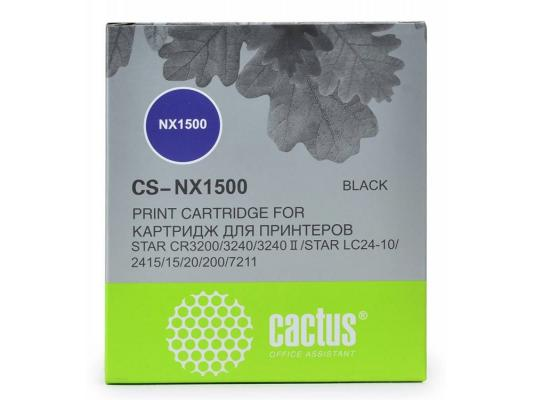 Картридж ленточный CACTUS CS-NX1500 для Star NX-1500/24xx/LC-8211 цены