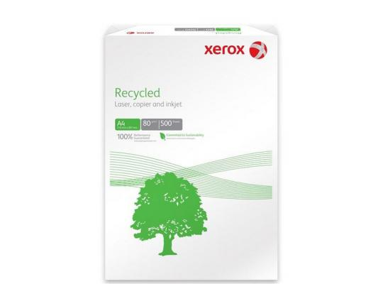 Бумага Xerox Recycled Plus А4 80 г/кв.м 500л 003R91912 бумага xerox office а3 80 г кв м 500л 421l91821