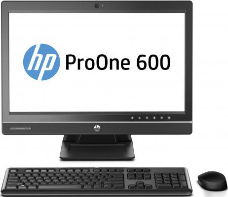 "Моноблок HP ProOne 600 G1 22"" 1920x1080 i3-4160 3.6GHz 4Gb 500Gb HD4400 DVD-RW Wi-Fi Bluetooth DOS клавиатура мышь черный J7D60EA"