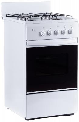 Газовая плита Flama RG 24011 W белый газовая плита flama rg 24022 w газовая духовка белый
