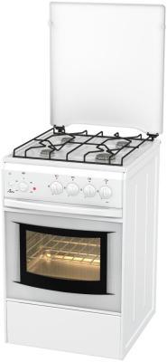 Комбинированная плита Flama АК 1411 W белый
