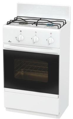 Газовая плита Flama CG 3202 W белый flama cg 3202 w белый