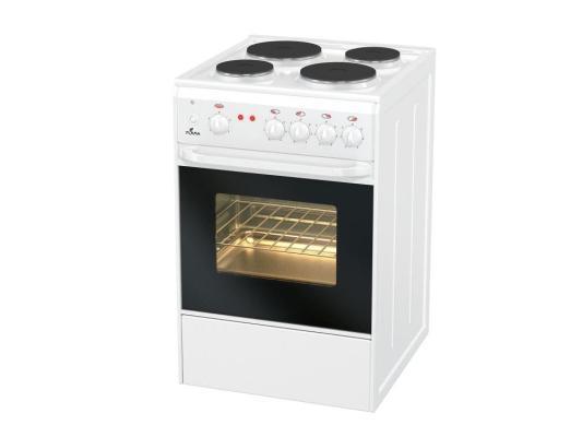 Электрическая плита Flama AE 1403 W белый цена 2017