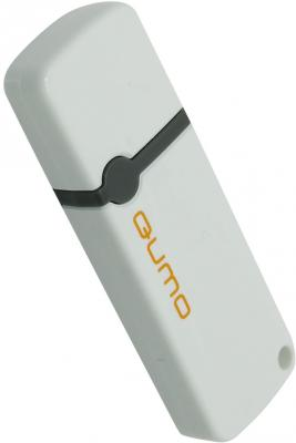 Флешка USB 4Gb QUMO Optiva 02 USB2.0 белый QM4GUD-OP2-White