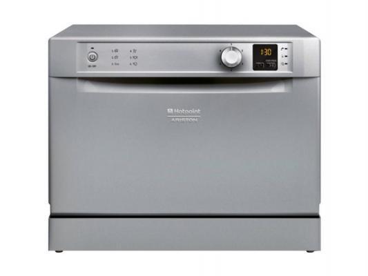 Посудомоечная машина Ariston HCD 662 S EU серебристый посудомоечная машина hotpoint ariston hcd 662 s eu