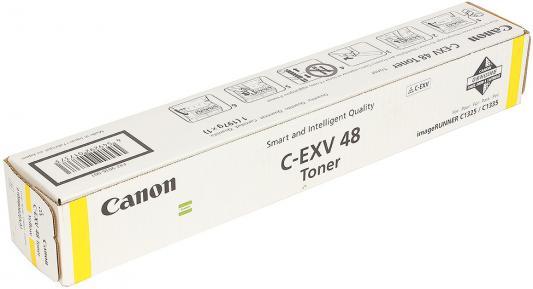 Тонер Canon C-EXV 48 для iR C1325iF/1335iF 11500стр желтый 9109B002 тонер canon c exv47y для ir c1325if 1335if жёлтый 30 000 страниц