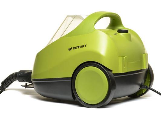 Пароочиститель KITFORT КТ-912 2000Вт зелено-серый