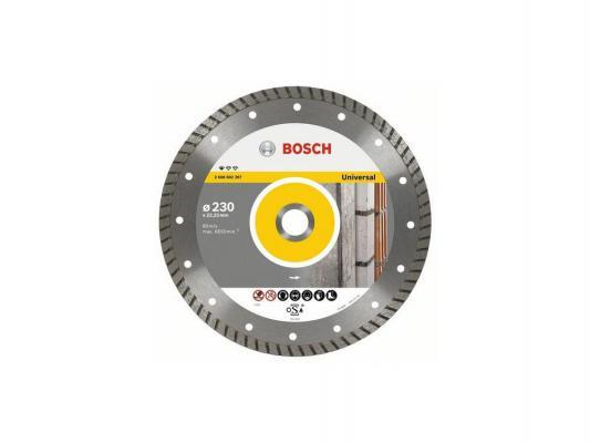 Алмазный диск Bosch 230-22.23T универсальный 2608602397