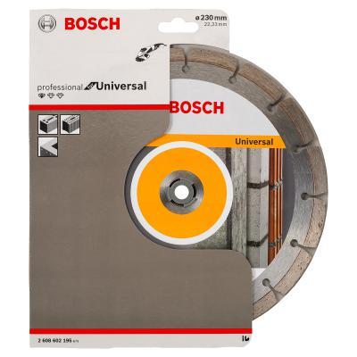 Алмазный диск Bosch универсальный 2608602195 диск алмазный diam 150х22 2мм master турбо 000160