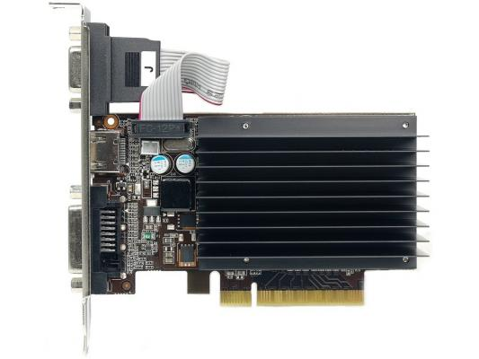 Видеокарта 1024Mb Palit GeForce GT730 PCI-E DVI HDMI NEAT7300HD06-2080H Retail
