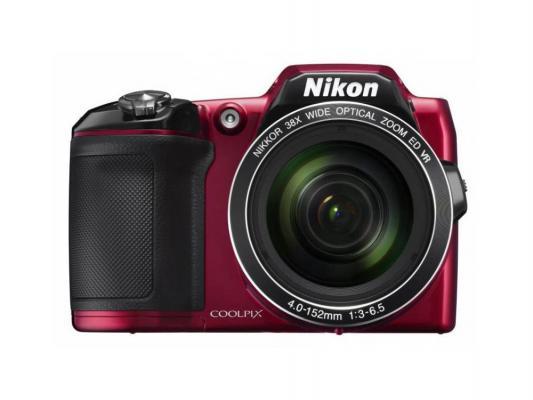 Фотоаппарат Nikon CoolPix L840 16Mp 38x Zoom красный VNA771E1