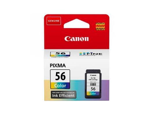 Картридж Canon CL-56 для Pixma E404 E464 цветной 9064B001 картридж canon pg 46 для pixma e404 e464 черный 9059b001