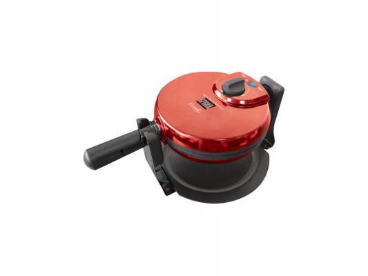 Вафельница GFGRIL GF-020 WAFFLE PRO чёрный красный