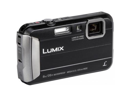 Фотоаппарат Panasonic Lumix DMC-FT30 черный цифровой фотоаппарат panasonic dmc gx80 lumix body