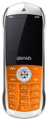 """Мобильный телефон LEXAND LPH1 оранжевый 1.44"""""""