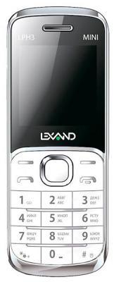 """Мобильный телефон LEXAND LPH3 белый 1.44"""""""