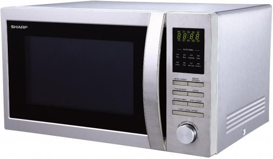 СВЧ Sharp R-3495ST 900 Вт серебристый