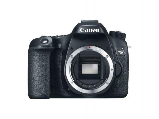Зеркальная фотокамера Canon EOS 70D Body черный 8469B004
