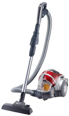 Пылесос LG V-K88504HUG без мешка сухая уборка 2000Вт красный