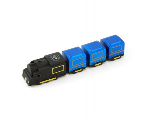 Концентратор USB Konoos UK-47 4 порта USB2.0 Поезд