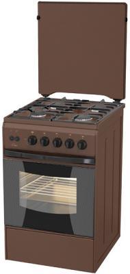 Газовая плита Flama FG 24211 B коричневый