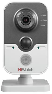 """Камера IP Hikvision DS-N241 (4 мм) CMOS 1/4"""" 1280 x 720 H.264 MJPEG RJ-45 LAN PoE белый черный"""