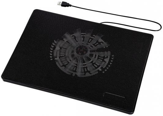 Подставка для ноутбука Hama 53067 охлаждающая черный crown micro cmls 01 black red охлаждающая подставка для ноутбука 17