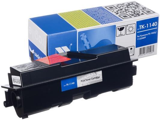 Картридж NV-Print TK-1140 для Kyocera FS-1035/1135MFP черный 7200стр картридж nv print tk 350 для kyocera fs 3920dn