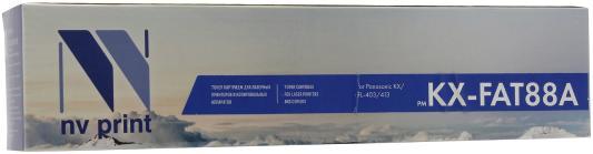 Картридж NV-Print KX-FAT88A для Panasonic KX-FL403RU/413RU/C413RU черный 2000стр свитшот print bar ramones