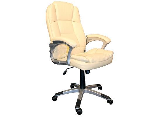 Кресло руководителя College BX-3233 экокожа бежевый кресло руководителя college bx 3001 1 экокожа коричневый