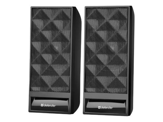 Колонки DEFENDER SPK-990 2x3Вт черный 65505